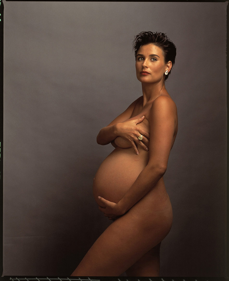 Demi moore - Vanity Fair 1991 - Annie Leibovitz